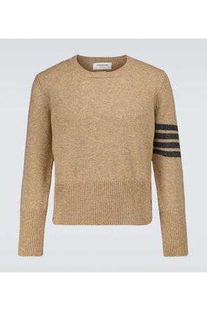 Thom Browne 4-Bar Shetland wool sweater