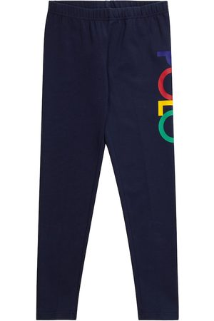 Ralph Lauren Logo stretch-cotton leggings