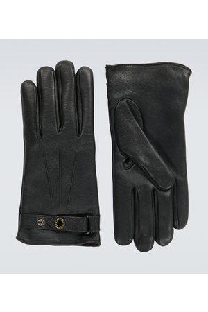 Alexander McQueen New Biker leather gloves