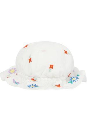 Stella McCartney Baby embroidered cotton hat