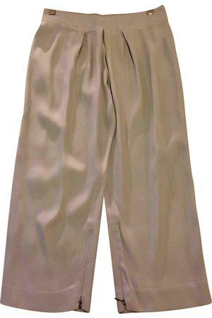 Stella McCartney Silk straight pants