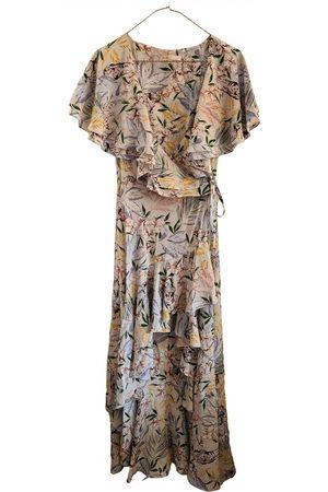 Maje Ecru Viscose Dresses