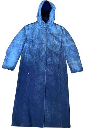 1017 ALYX 9SM Navy Cotton Trench Coats