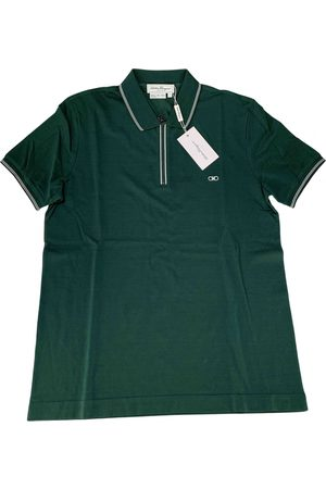 Salvatore Ferragamo Cotton Polo Shirts