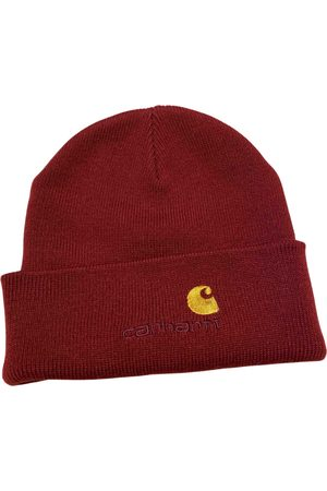 Carhartt Burgundy Synthetic Hats & Pull ON Hats