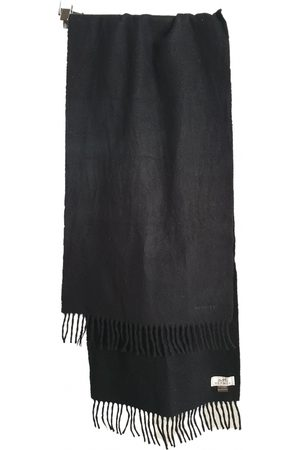 Hermès Anthracite Cashmere Scarves