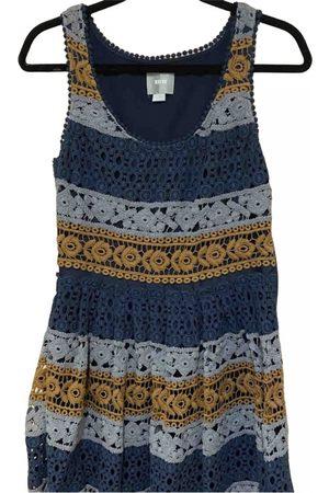 Maeve Navy Cotton Dresses
