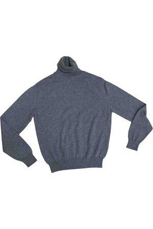 corneliani Grey Cashmere Knitwear & Sweatshirts