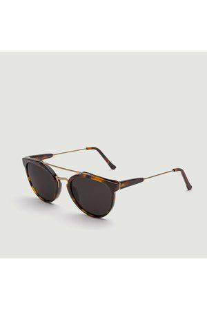 Retrosuperfuture Classic Giaguaro Havana Sunglasses