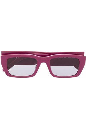 Palm Angels Rectangle Frame Sunglasses
