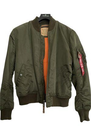 Alpha Industries Khaki Synthetic Jackets