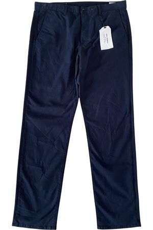 RAG&BONE Navy Cotton Trousers