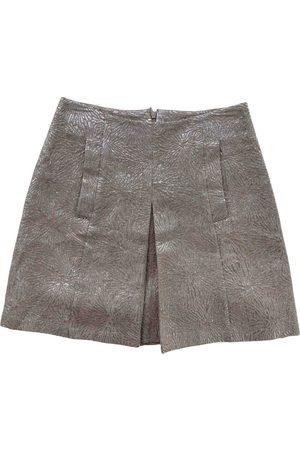 A.P.C. Women Mini Skirts - Wool mini skirt
