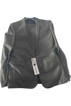 Dior Khaki Wool Suits