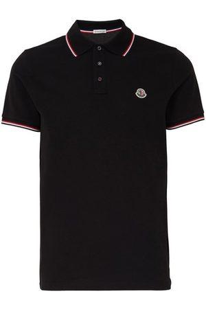 Moncler Men Polo Shirts - Logo polo shirt