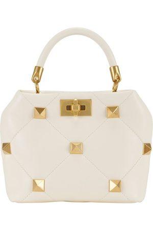Valentino Women Purses - Garavani - Small top handle Roman Stud bag