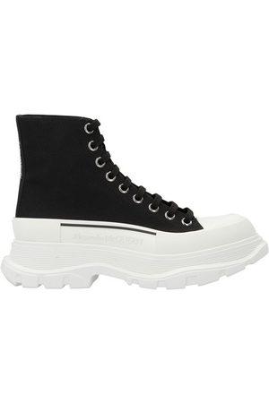 Alexander Mcqueen Women Sneakers - Tread Slick boots