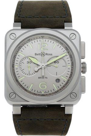 Bell & Ross Men Watches - Grey Steel Watches