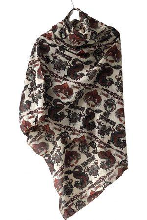 Jean Paul Gaultier Burgundy Cotton Scarves & Pocket Squares