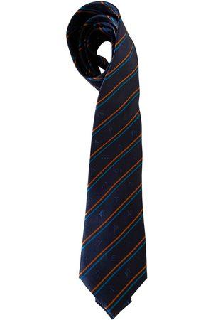 Kenzo Navy Silk Ties
