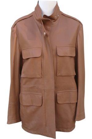 Hermès Camel Leather Jackets