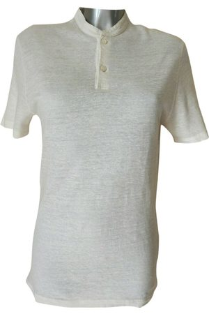 Berluti Ecru Linen T-Shirts