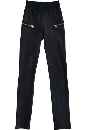 DNA Leather Trousers