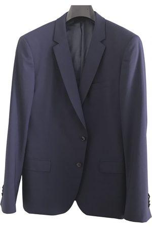 De Fursac Navy Wool Jackets
