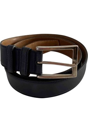 Tod's Navy Leather Belts