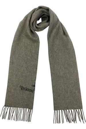 Vivienne Westwood Grey Wool Scarves