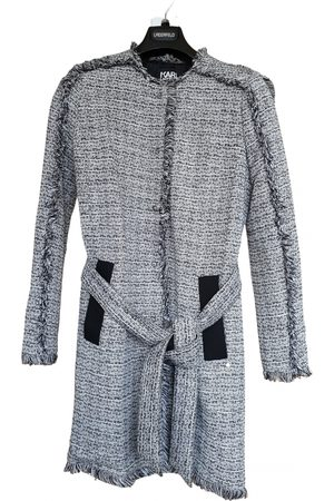 Karl Lagerfeld Women Trench Coats - Cotton Trench Coats