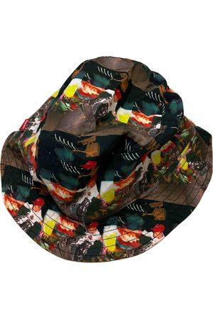 Supreme x Comme Des Garçons Multicolour Cotton Hats & Pull ON Hats