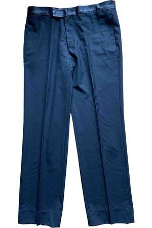 Hermès Men Pants - Wool Trousers