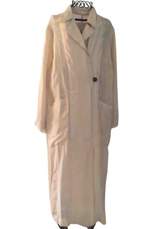 SONG FOR THE MUTE Viscose Trench Coats
