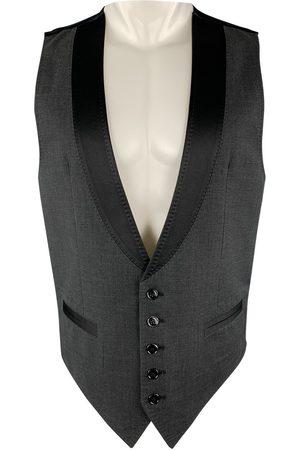 Dolce & Gabbana Anthracite Cotton Knitwear & Sweatshirts