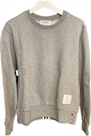 Thom Browne Grey Cotton Knitwear & Sweatshirt
