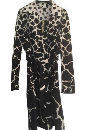 Roberto Cavalli Multicolour Synthetic Trench Coats
