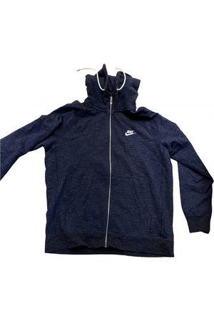 Nike Navy Cotton Knitwear & Sweatshirt