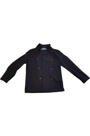 RED Valentino Navy Wool Coats