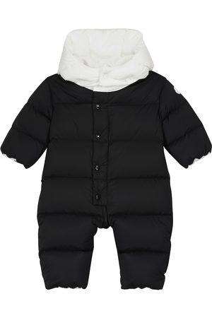 Moncler Baby Billur quilted down snowsuit