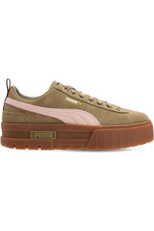 PUMA Mayze Suede Platform Sneakers
