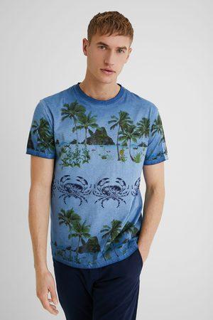 Desigual 100% cotton tropical T-shirt