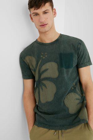 Desigual Basic cotton T-shirt