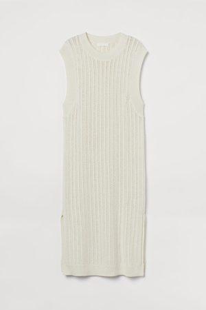 H&M Pointelle-knit Dress