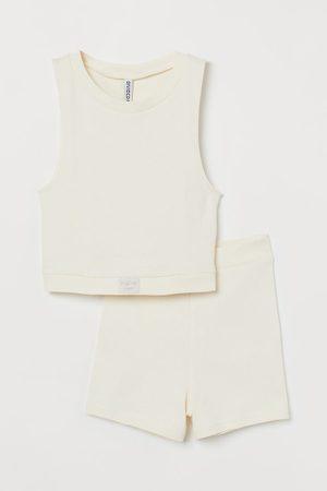 H&M Ribbed Pajamas