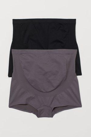 H&M MAMA 2-pack Seamless Shorties