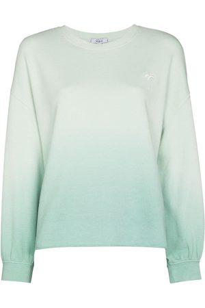 Rails Women Long sleeves - Gradient crewneck long sleeve sweatshirt