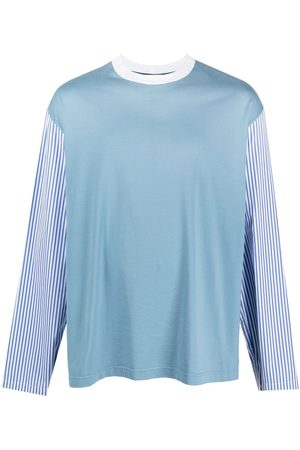 Marni Panelled design long-sleeve T-shirt