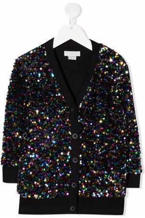 Stella McCartney Sequin-embellished V-neck cardigan