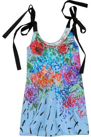 Christopher Kane Women Party Dresses - Floral tie mini dress